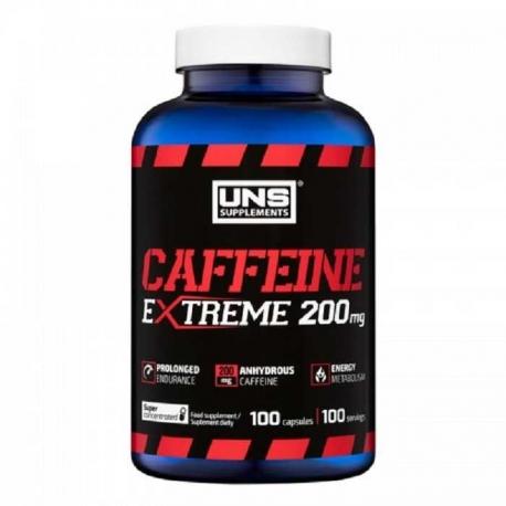 UNS CAFFEINE 200 mg 100kaps