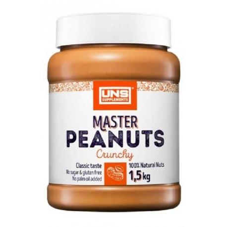 UNS Master Peanuts Crunchy 1500g