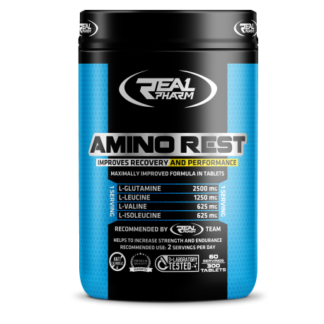 Real Pharm Amino Rest - 300 tabs.