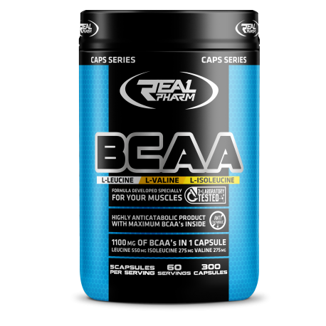 Real Pharm BCAA - 300 caps.