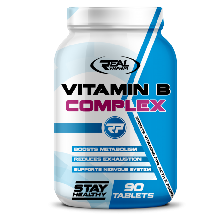 Real Pharm Vitamin B Complex - 90 tabs.