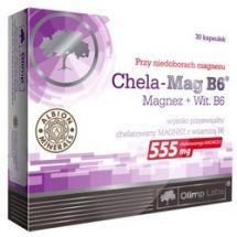 Olimp Chela Magnez + B6 - 30 kaps.