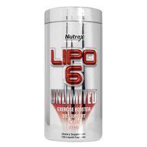 Nutrex Lipo 6 Unlimited 136g Fruit Punch