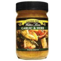 Walden Farms Pasta Sauce Garlic and Herbs
