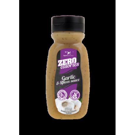 Sport Definition Sauce ZERO 320ml Garlic & Spacies
