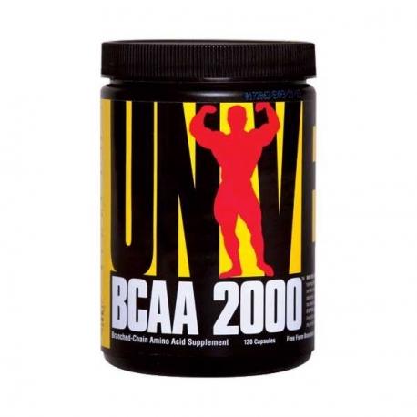 Universal Bcaa 2000 120tabs.
