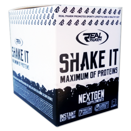 Real Pharm Shake IT BOX MIX 20x30g