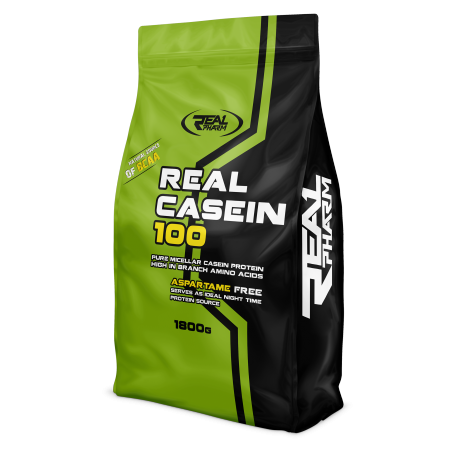 .Real Pharm Real Casein 100 - 1800g - Czekolada