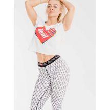 Real Wear Leginsy 'Kabaretki' White