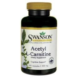 ALC (Acetyl L-Karnityny) 500mg 100kaps