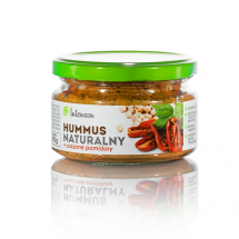 Hummus naturalny z suszonymi pomidorami 190g