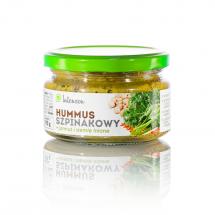 Hummus szpinakowy z jarmużem i siemieniem lnianym 190g