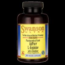 Swanson AjiPure L-arginina & L-ornityna 90kaps