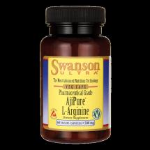 Swanson AjiPure L-Arginina 500mg 60kaps