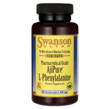 Swanson AjiPure L-fenyloalanina 500mg 60kaps