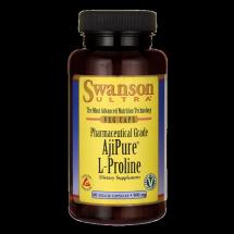 Swanson AjiPure L-prolina 500mg 60kaps