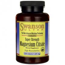 Swanson Cytrynian Magnezu 120 tabl