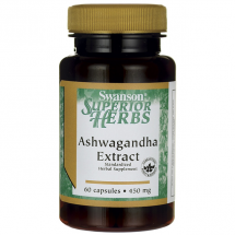 Swanson Ashwagandha extract 60 kaps
