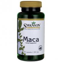 Swanson Maca 500mg 100 kaps