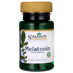 Swanson Melatonina 500mcg