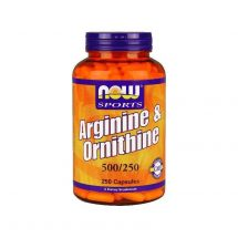 Now Foods Arginine/Ornithine 250 caps