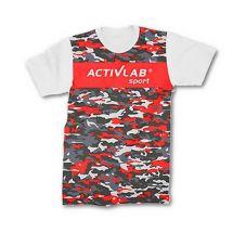 Activlab T-Shirt Red Camo