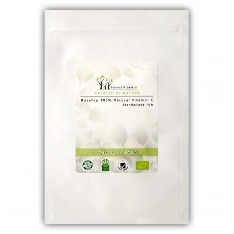 Forest Vitamin Naturalna Witamina C w 100% z dzikiej róży 300g