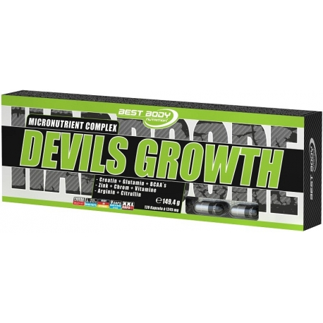 Best Body Devils Growth - 120 kaps.