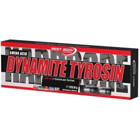 Best Body Dynamite Tyrosin - 120 kaps.