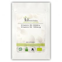 FOREST Vitamin D3 5000+K2- 100tabl