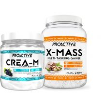 Proactive X-MASS 3kg + Proactive CREA-M 0,5kg