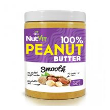 NutVit 100%Peanut Butter 500g. Smooth