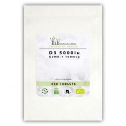 FOREST Vitamin D3 5000+K2- 550tabl