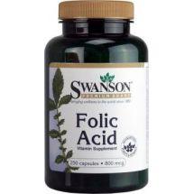 Swanson Kwas Foliowy- Folic Acid 250caps
