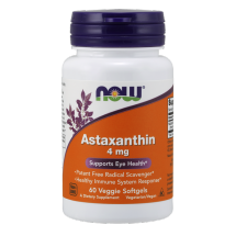 Now Foods ASTAXANTHIN - 60 VEGGIE SOFTGELS