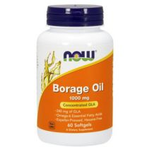 NOW FOODS BORAGE OIL - 60 SOFTGELS (OLEJ Z OGÓRECZNIKA)