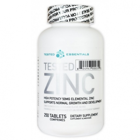 Tested ZINC 250 kaps. [50mg]