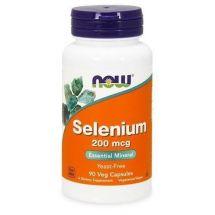 Now Foods Selenium 200 mcg 90 vcaps