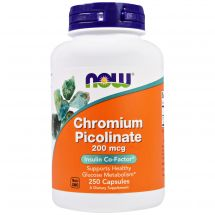 NOW CHROMIUM PICOLINATE 200MCG 250vcap