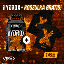 Real Pharm Hydrox - 120 tabs + Tank Top GRATIS!