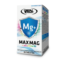 .Real Pharm MAX MAG+B6 90 tabl.