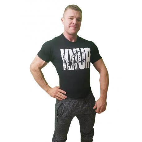 "Real Wear T-Shirt Czarna  ""Knur"""