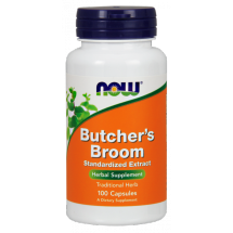 Now Foods Butcher's broom 100mg 100kap