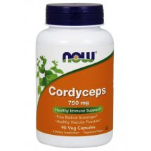 NOW FOODS Cordyceps 750mg 90 vcaps