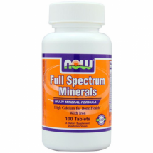 Now Foods Full spectrum minerals 120 iron -free