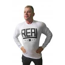 Real Wear Longsleeve biały