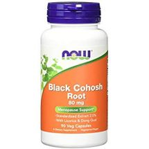 NOW FOODS BLACK Cohosh root 80mg 90vcaps