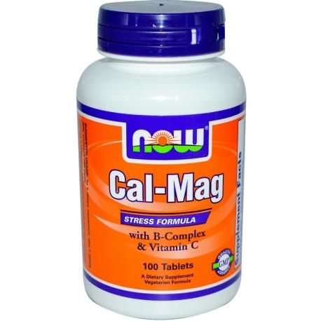 Now Foods Cal-Mag Stress Formula - 100 tabl.
