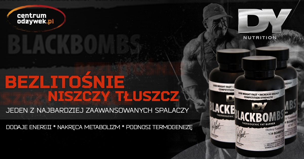 Dorian Yates Black Bombs
