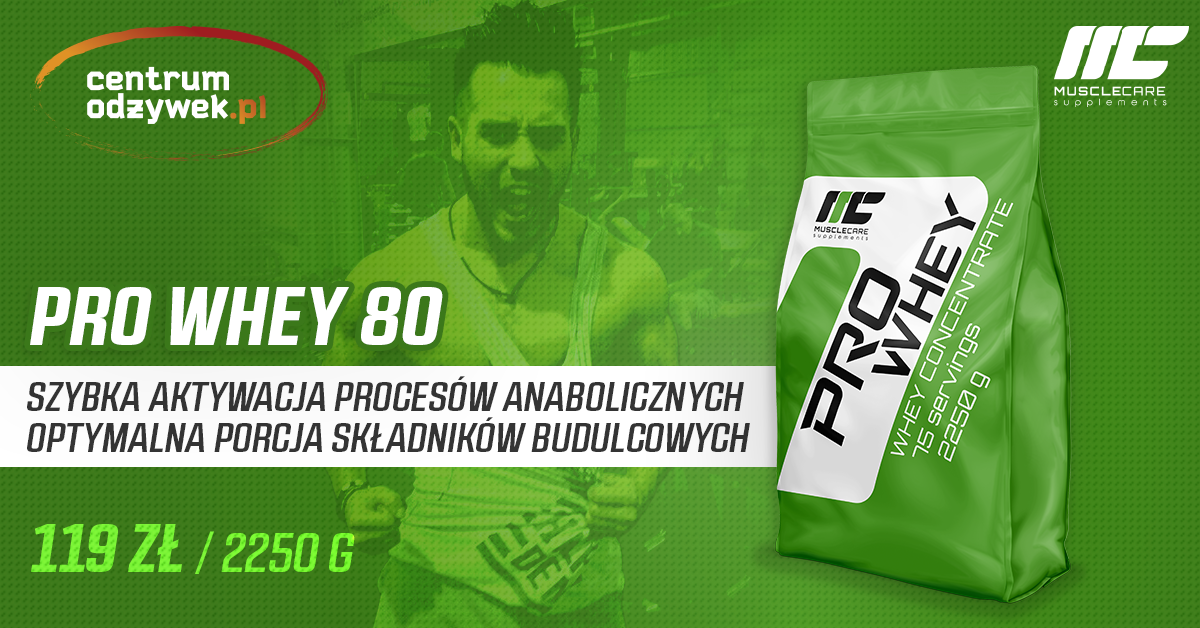 Muscle Care Pro Whey